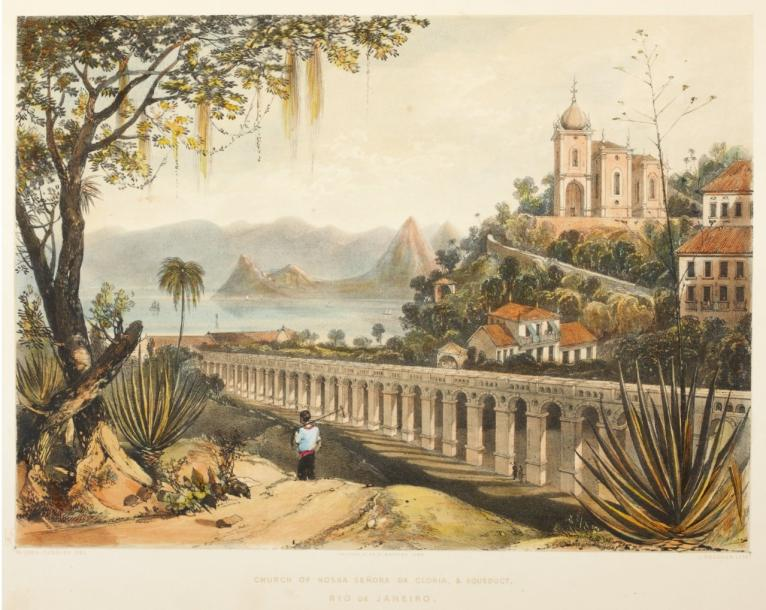OUSELEY (William Gore) Views in South America, from original drawings made in Brazil,…