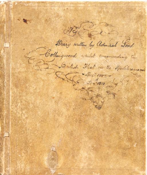 COLLINGWOOD (Cuthbert) Diary written by Admiral Lord Collingwood whilst commanding…