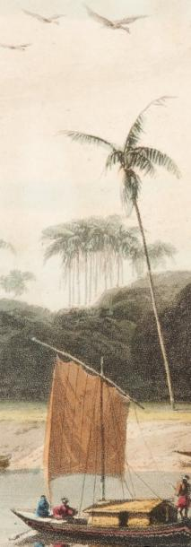 DANIELL (Thomas et William) A Picturesque Voyage to India; by the way of China. London,…