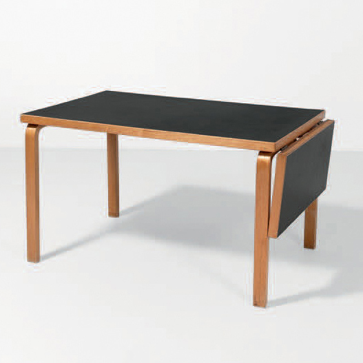alvar aalto finlande table rabat mod le hl1 bouleau linoleum dition. Black Bedroom Furniture Sets. Home Design Ideas