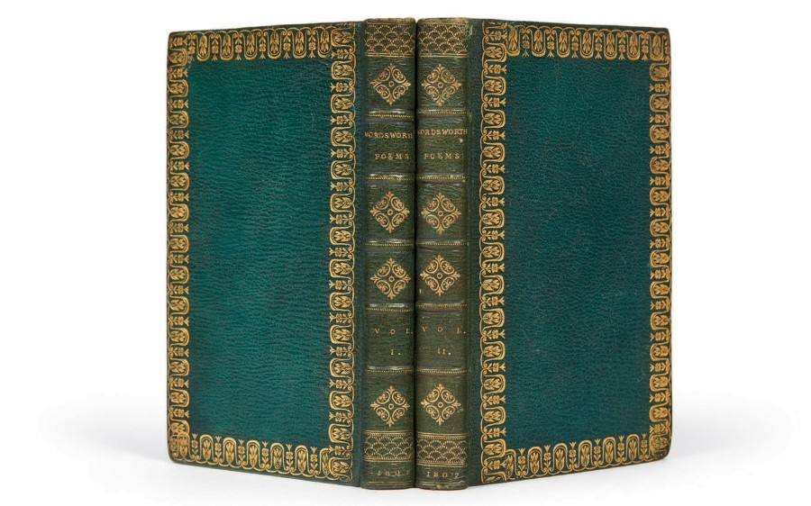 WORDSWORTH, William Poems, in two volumes. London, printed for Longman, Hurst, Rees,…