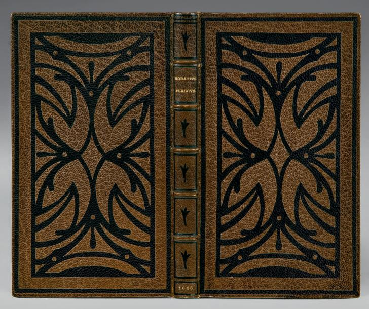HORACE [Opera]. Paris, Robert III Estienne, 1613. In-12 [154 x 88 mm] de (4) ff.,…