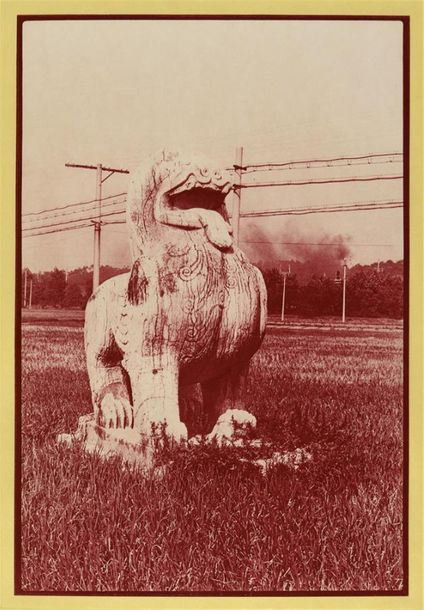 "Robert Rauschenberg (1925-2008) ""China mix"", 1983 Rare portfolio de 21 photogravures.…"