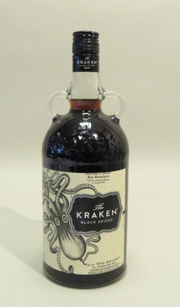 The Kraken, Black Spiced, Bizarre & Fierce, Rhum. 1 Flacon de 100 cl.