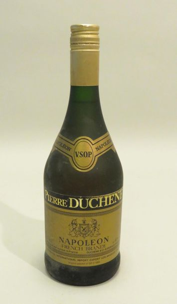French Brandy, Napoléon, Pierre Duchêne, V.S.O.P.. 1 Flacon de 75 cl.