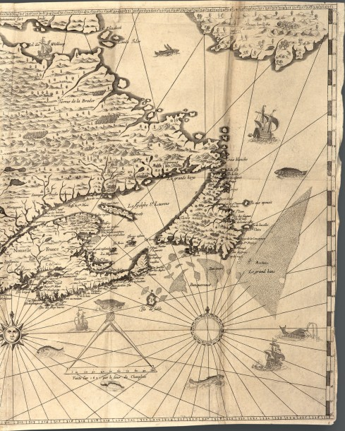CHAMPLAIN (Samuel de) Les Voyages de la Nouvelle France occidentale, dicte Canada.…