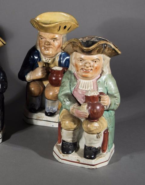 "Trois pichets "" Toby Jug"", Angleterre"