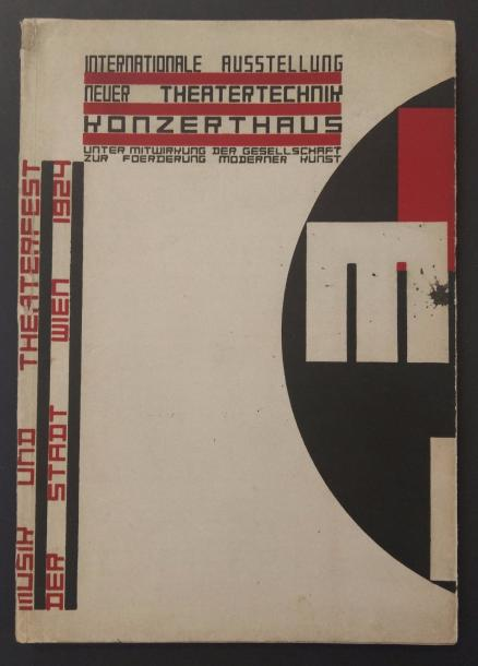 [AVANT-GARDE INTERNATIONALE]. KIESLER Friedrich INTERNATIONALE AUSTELLUNG NEUER THEATERTECHNIK.…