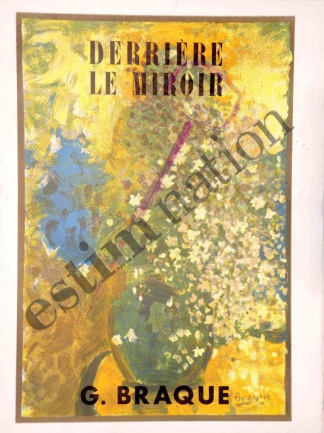 Revue derri re le miroir ann e 1951 1952 maeght for Maeght derriere le miroir