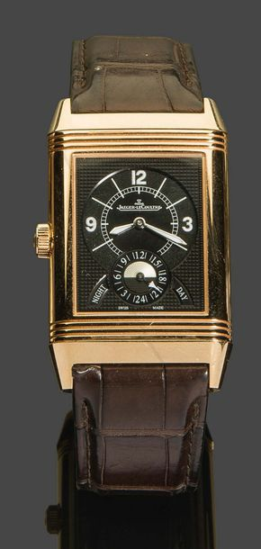 JAEGER LECOULTRE JAEGER-LECOULTRE Grande Reverso Duo Date 986, ref. 273.2.85, n°…