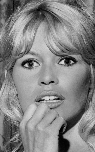 Jean Pierre Laffont  Brigitte Bardot 16/12/1965 New York City  Tirage argentique…