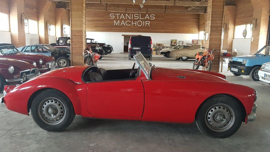 MG A Twin Cam - 1959 N° de série: 942 Succession Collection F. Achat en 2001 Carte…