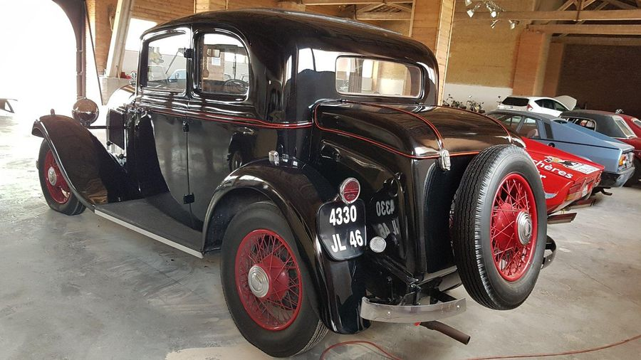 HOTCHKISS 411 Coach Côte d'Azur - 1933 N° de série: 37896 Succession Collection F.…