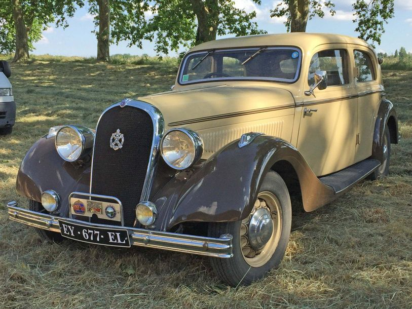 HOTCHKISS 686 PN Paris Nice 1936 N° de série: 62003. Succession Collection F. Ac…