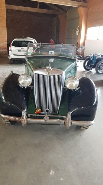 MG YT Tourer 1952 N° de série: 2887. Succession Collection F. Achat en 2001. Car…