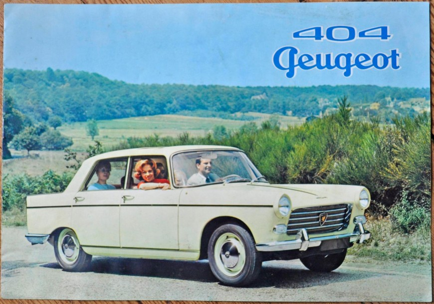 PEUGEOT Catalogue 404 PEUGEOT. 404 Catalog