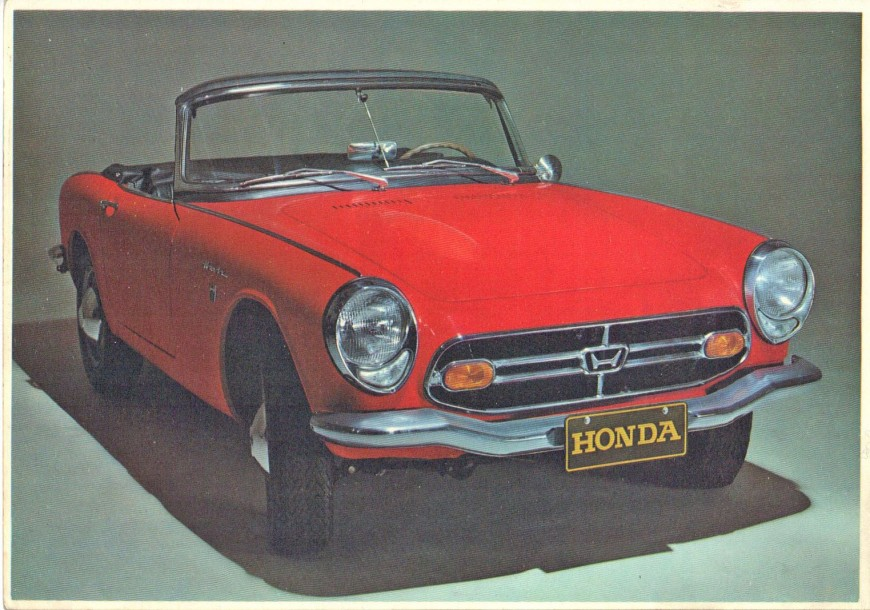 honda s800 1967 n s rie 1001563 a partir de 1960 la firme honda. Black Bedroom Furniture Sets. Home Design Ideas