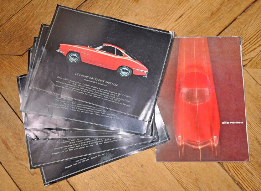 ALFA ROMEO 1 Catalogue: Giulietta Berline 1600 TI, 1600 Spider, 1600 Sprint, GT Veloce,…