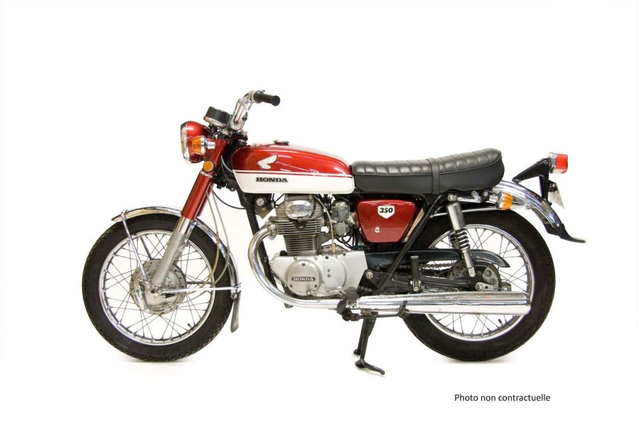 HONDA CL 350- 1970  N° Série : 5000879  Type mine : CL 350    Immatriculable collection.…