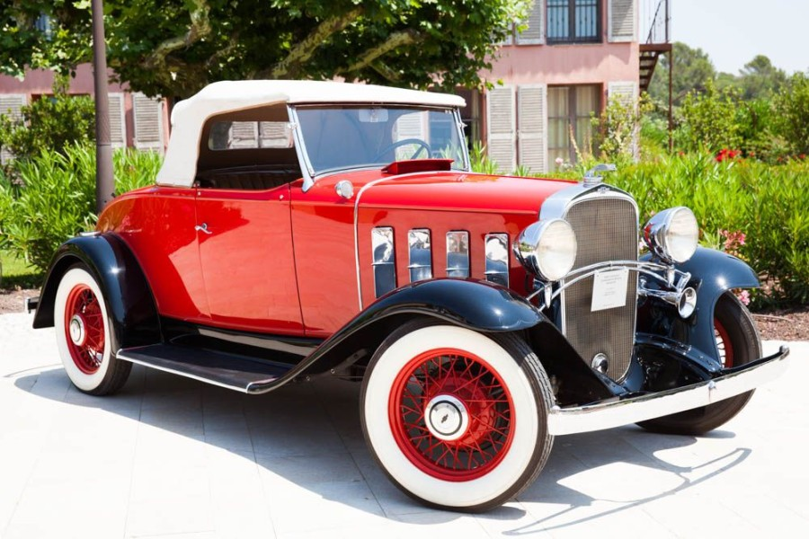 CHEVROLET CONFEDERATE DE LUXE – 1932  Sports Roadster - Speeder  N° Série 21 BA123094…