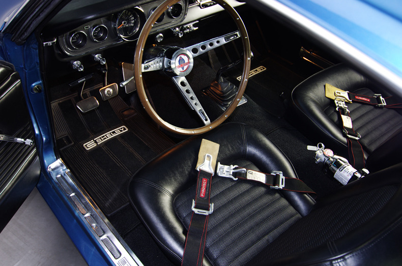 FORD Ford Mustang Fastback Shelby – 1965 N° Série : 132277 Carte Grise Française…