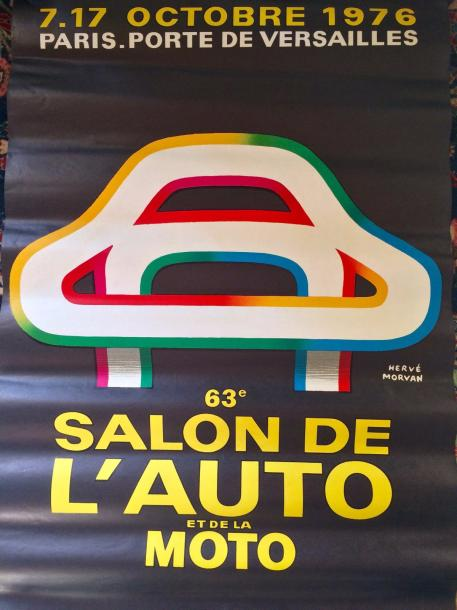 Lot de 3 affiches automobiles