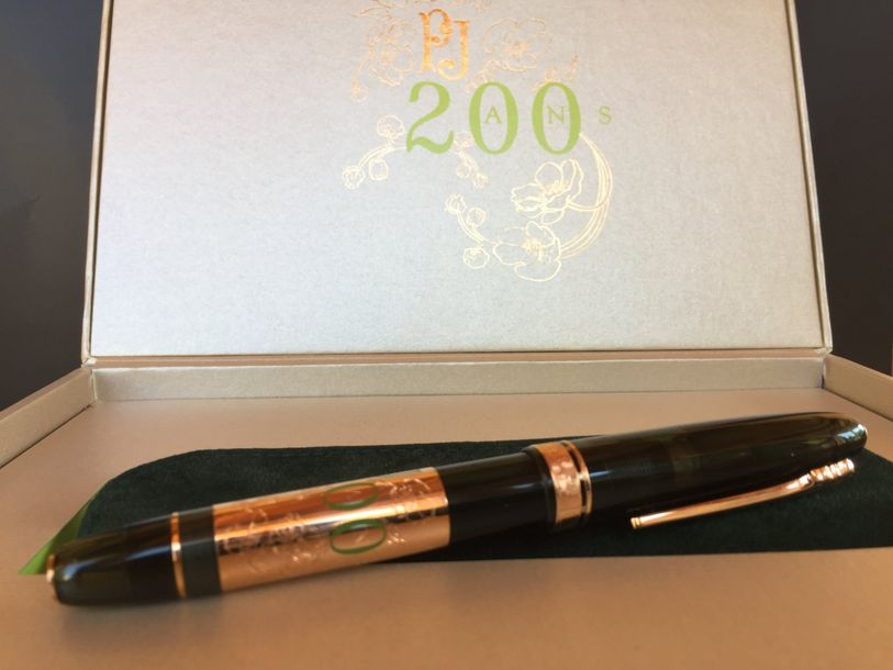 Stylo Perrier Jouet Rolller. Special Edition 200 ans