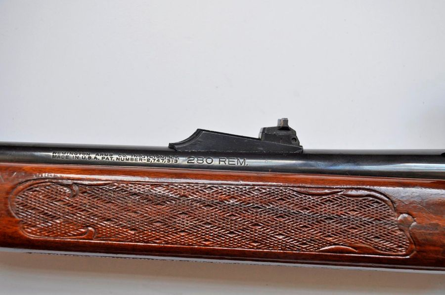 Carabine REMINGTON Calibre 280 N° de Série B7087615. Wood master model 742, avec…