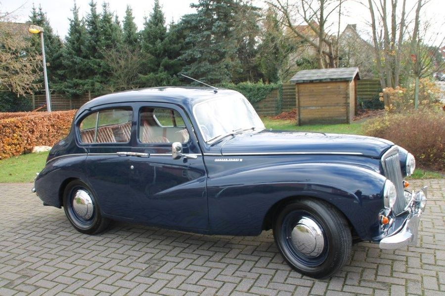 SUNBEAM TALBOT 90 -1954  N° Châssis : A3016346HS  Documents UK  Sunbeam Talbot sort…
