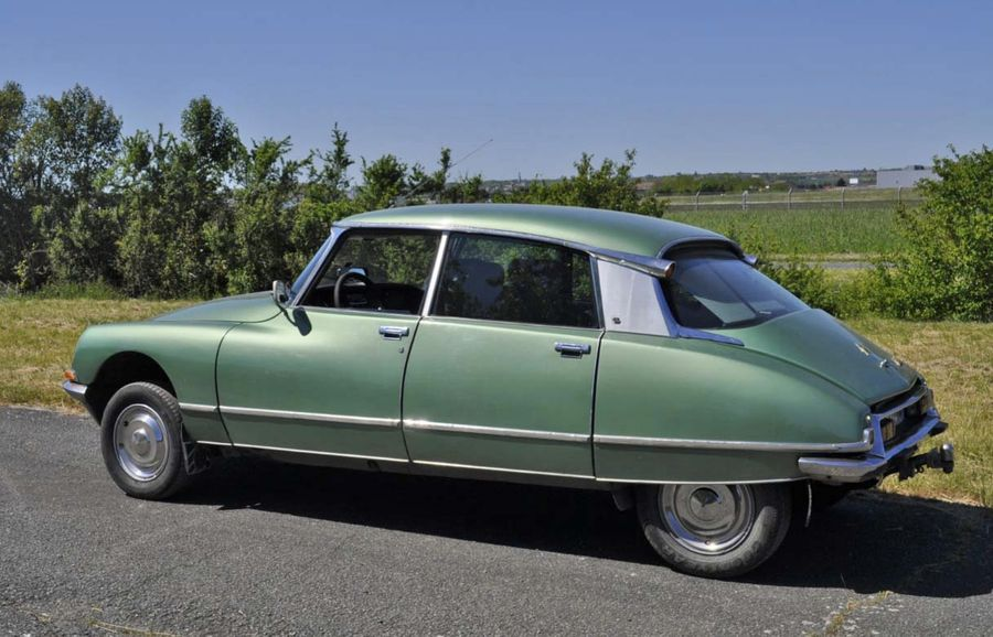 CITROËN DS 21 Pallas Injection Electronique- 1972 (VENTE SUR DESIGNATION) Carte…