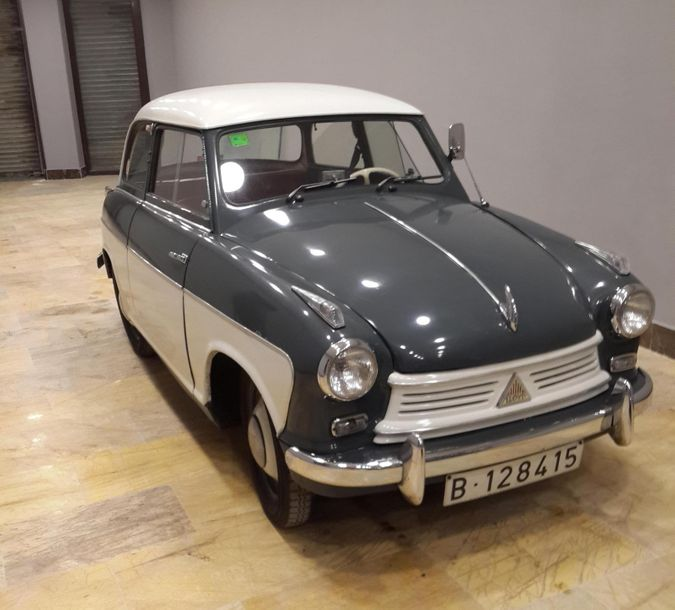 LLOYD 600 -1956 N° châssis : 6-238601 Documents ES Production du groupe Borgward…