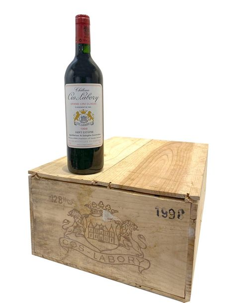 12 Btes Chateau Cos Labory 1998 CBO