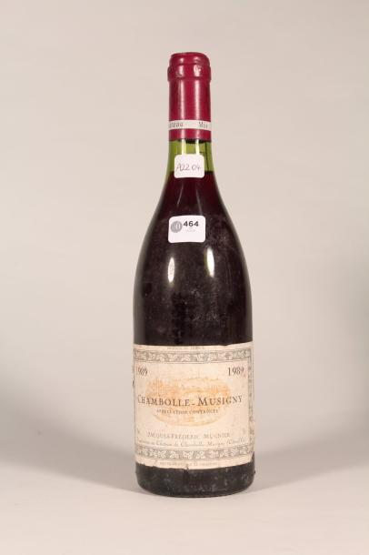464  Domaine J.F. Mugnier 1989  Chambolle-Musigny (rouge) - 1 blle étiquette sa…