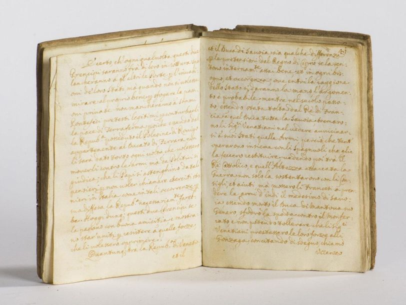 MANUSCRIT - VENISE - Italie : Relatione della citta e republica de Venetia. In-12,…