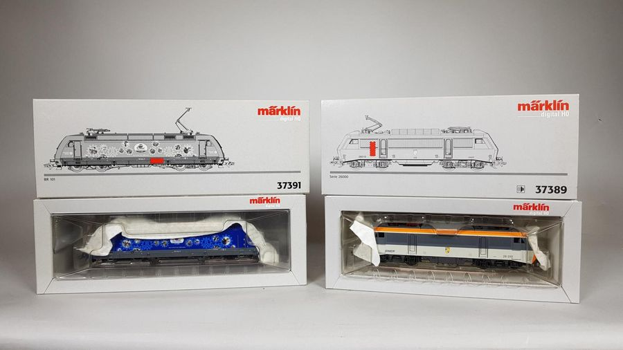 MARKLIN. Locomotive 37389 et locomotive 37391.