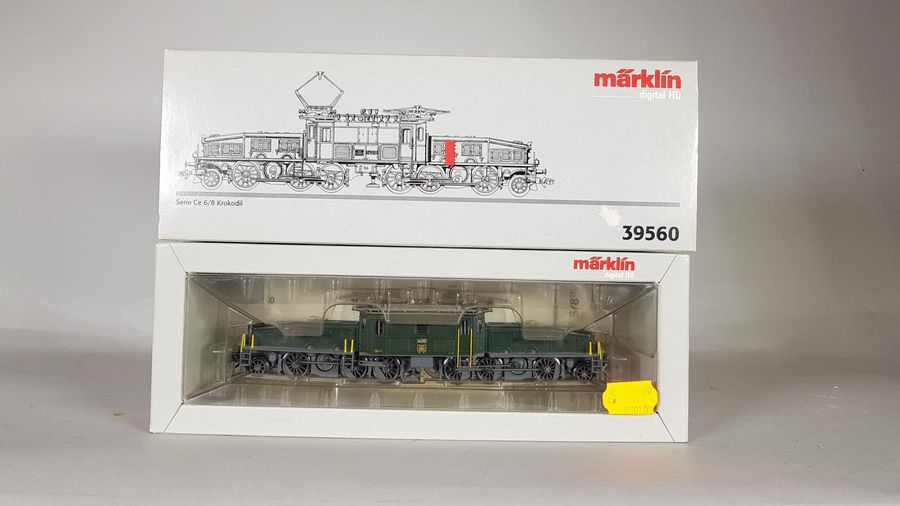 MARKLIN. Locomotive n°39560.