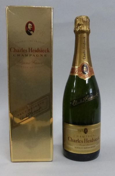 1 bouteille de Champagne Charles Heidsieck