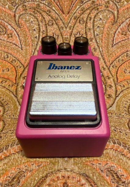 PEDALE D'EFFECTS - IBANEZ  MODELE - AD 9 Analog Delay