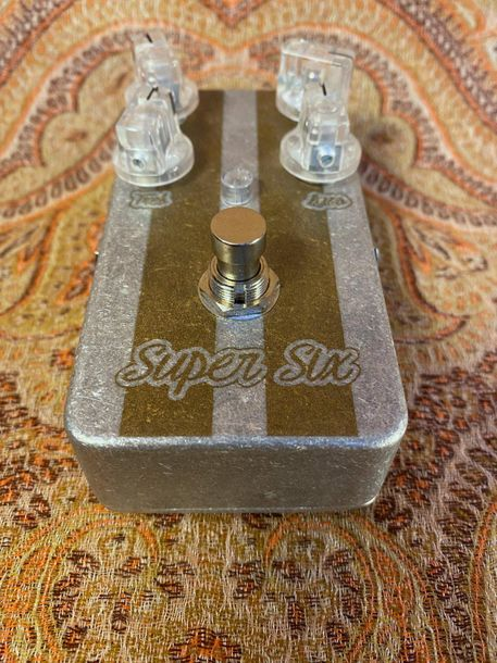 PEDALE D'EFFETS - LOVEPEDAL  MODELE - Super Six