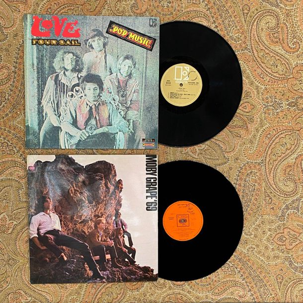 Pop Rock 2 disques 33T Psyché américaine  Moby Grape: original anglais, Love: or…