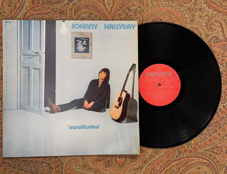 "Johnny Hallyday 1 disque 33 T Johnny Hallyday ""Insolitude""  6325025, Philips, la…"