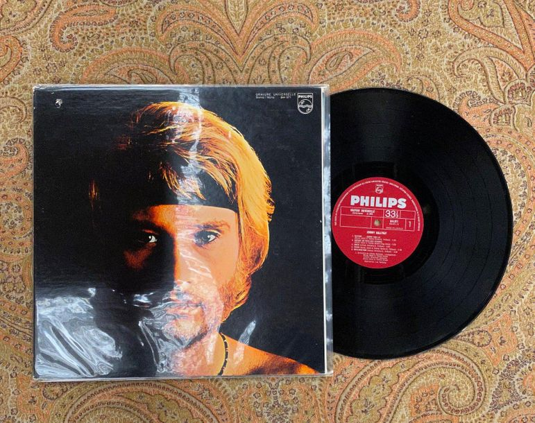 Johnny Hallyday 1 disque 33 T Johnny Hallyday, avec The Small Faces  844971BY, P…