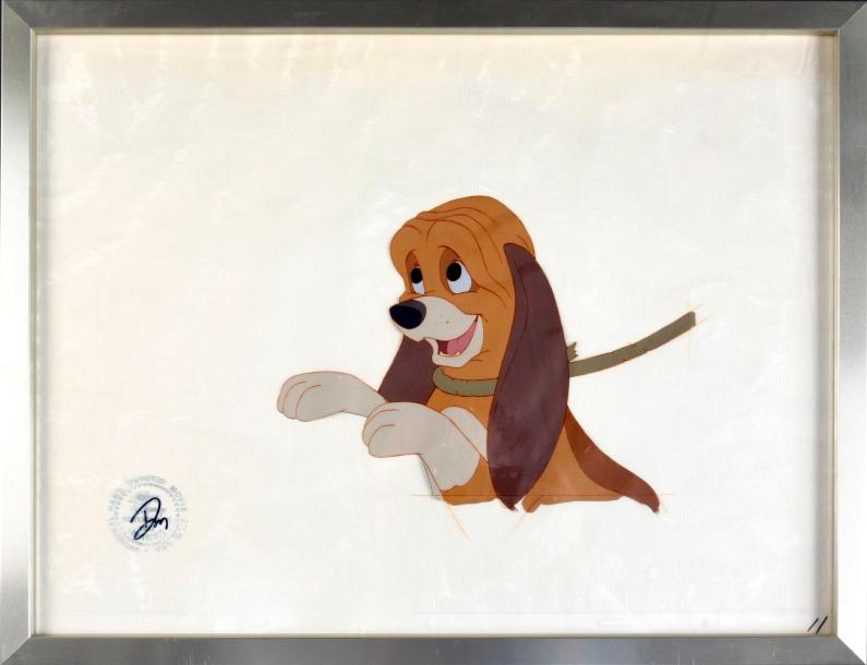 Walt Disney Studios. Rox et Rouky (The Fox and the Hound). 1981. Gouaches et crayon…