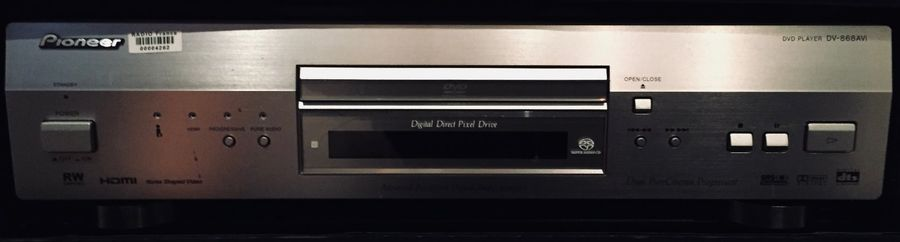 MACHINE AUDIO - LECTEUR DVD PIONEER DV 868