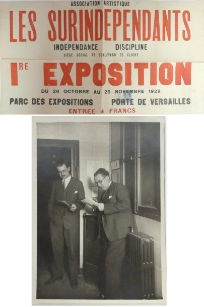 [René MENDES FRANCE (1888-1985), peintre et graveur.] Photographies, documents,…