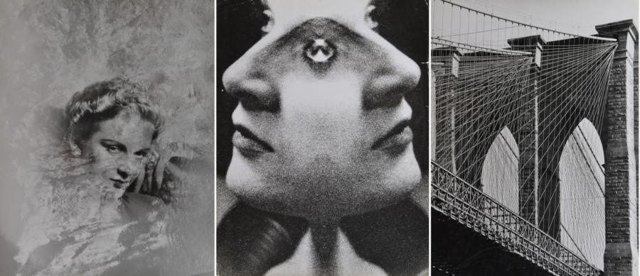 Douchan STANIMIROVITCH (1912-1978). Photomontages, New-York, fleurs, montagne, portraits.…
