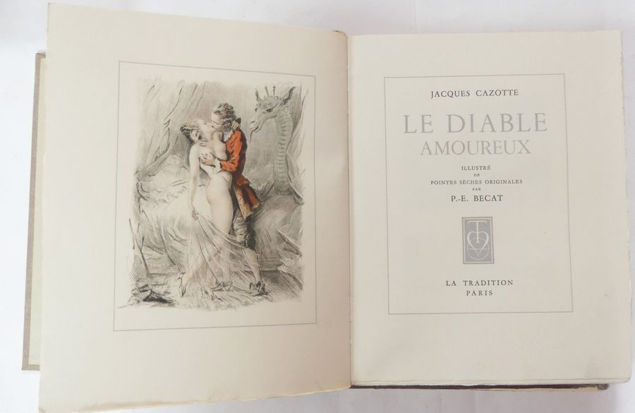 [BECAT]. Jacques CAZOTTE. Le Diable amoureux (…). Paris, La Tradition, s.d. Un vol.…