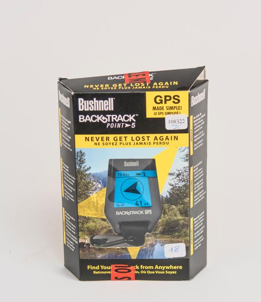 * GPS BUCHNELL backtrap, point S