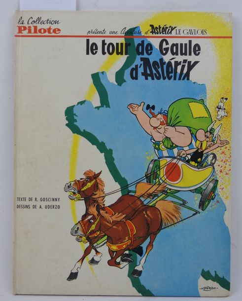 LE TOUR de GAULE d'ASTERIX, Collection pilote, depot légal 1er trimestre 1965.