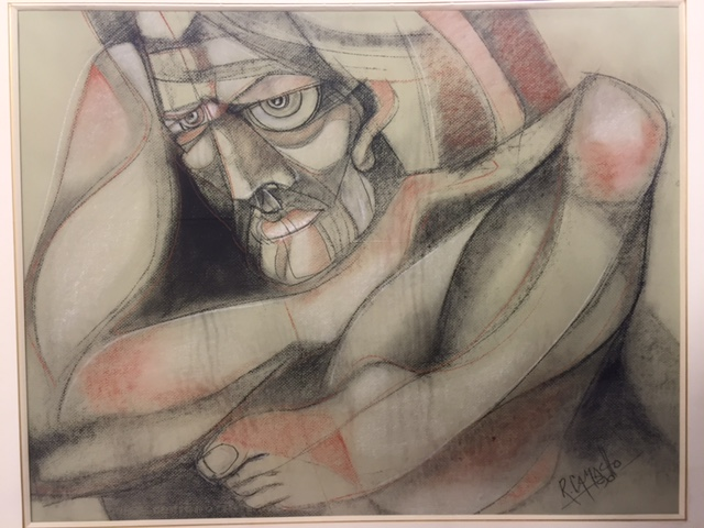 CAMACHO Jorge 1934-2011 Original pastel on paper 1990 signed and dated lower right…